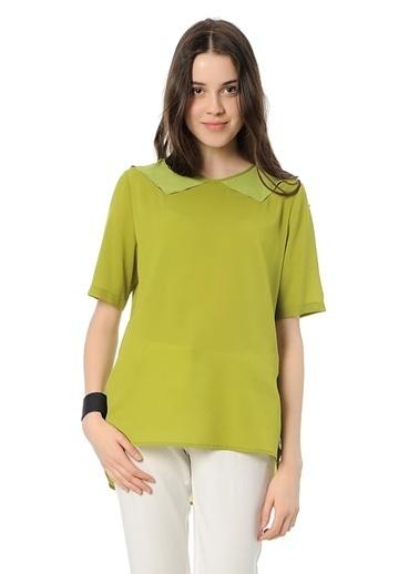 Cotton Bar Bluz Yeşil